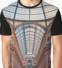Galleria Milan Italy Graphic T-Shirt