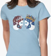"""Mirror, mirror on the wall, who is the fairest queen of them all"" Womens Fitted T-Shirt"
