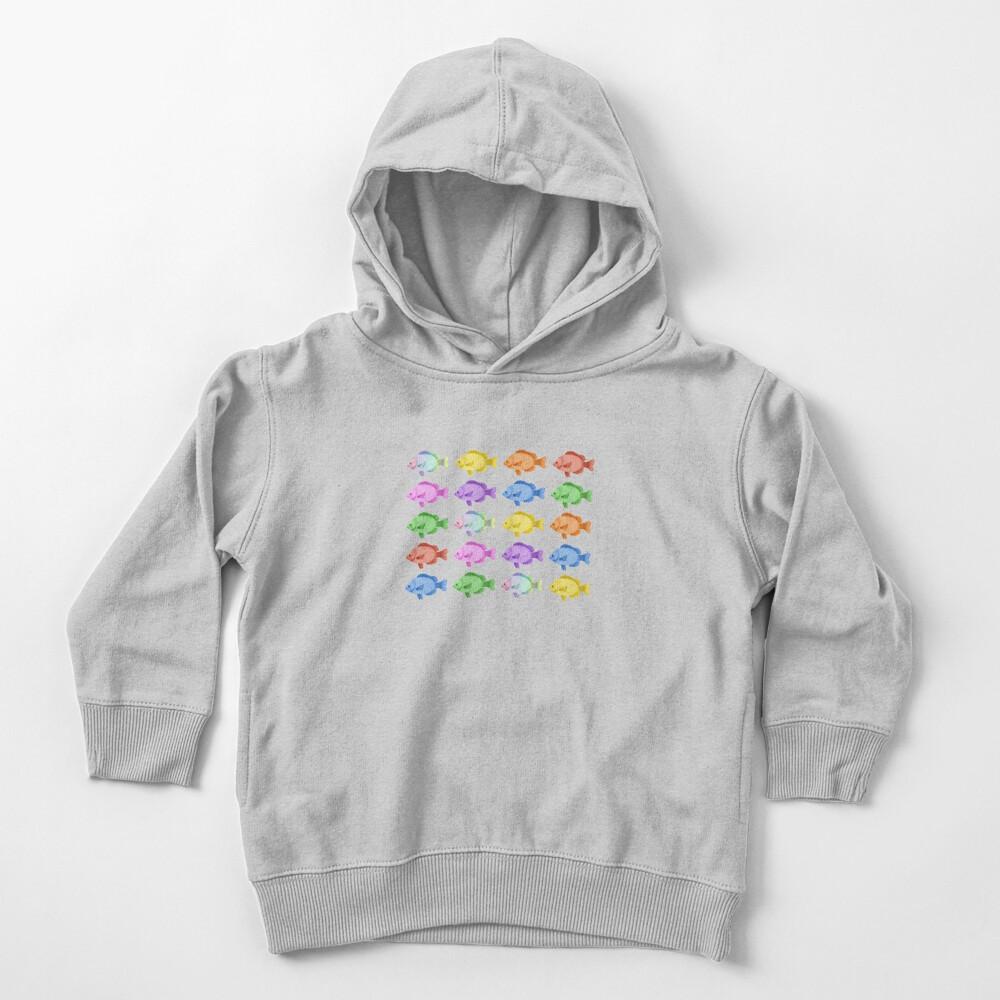 Peces multicolores Sudadera con capucha para bebé