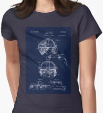 Antique Welders Goggles blueprint drawing T-Shirt