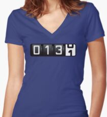 Almost There [13.1] Women's Fitted V-Neck T-Shirt