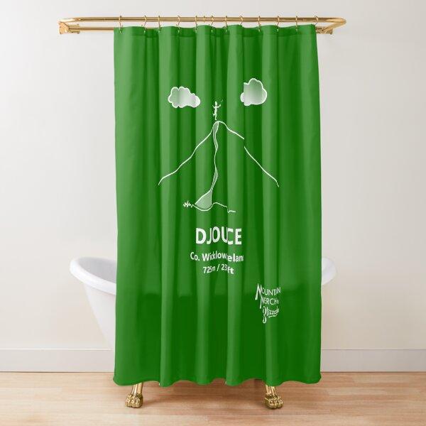 Djouce - Happy Hiker Shower Curtain