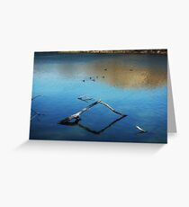 Calm Water at the Lake Greeting Card