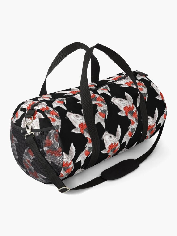 Alternate view of Koi Fish Duffle Bag