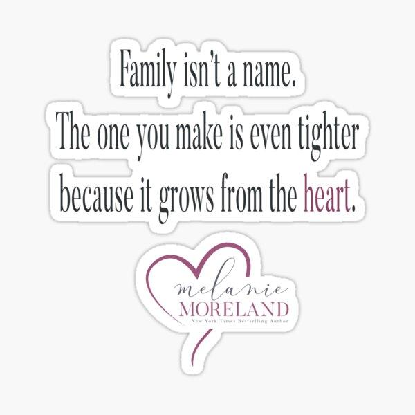 Family - Melanie Moreland Books Sticker