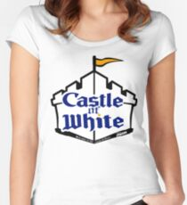 Castle Of White Women's Fitted Scoop T-Shirt