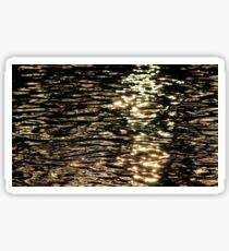 River Reflection Sticker