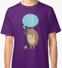 Yak on the Phone Classic T-Shirt