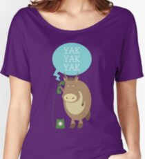 Yak on the Phone Women's Relaxed Fit T-Shirt