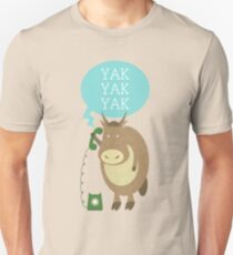 Yak on the Phone T-Shirt