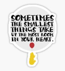 Smallest Things Sticker