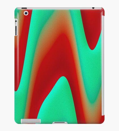 Plaster waves iPad Case/Skin