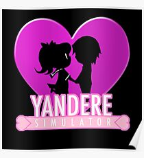 Yandere Simulator - Yandere Love Print Poster