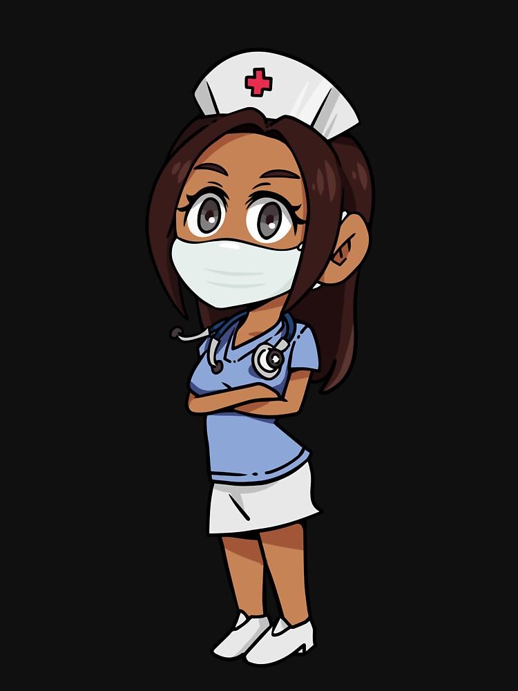 My Masked SuperHero Nurse by BlackRhino1