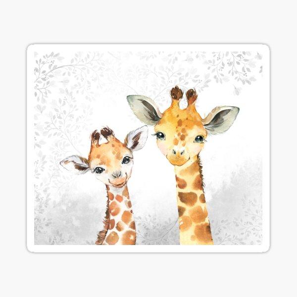 Children's safari giraffe animals baby Sticker