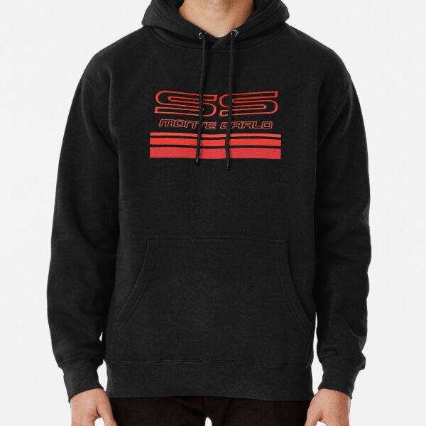 Monte Carlo SS Chevrolet Red Shadows 1987-1988 Pullover Hoodie