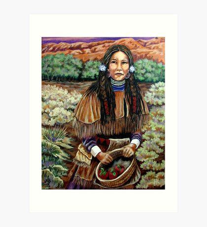 Shaman's Daughter, Margaret  Art Print