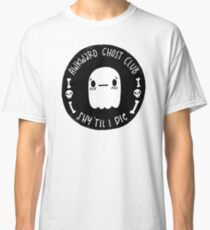 Awkward Ghost Club Black Classic T-Shirt