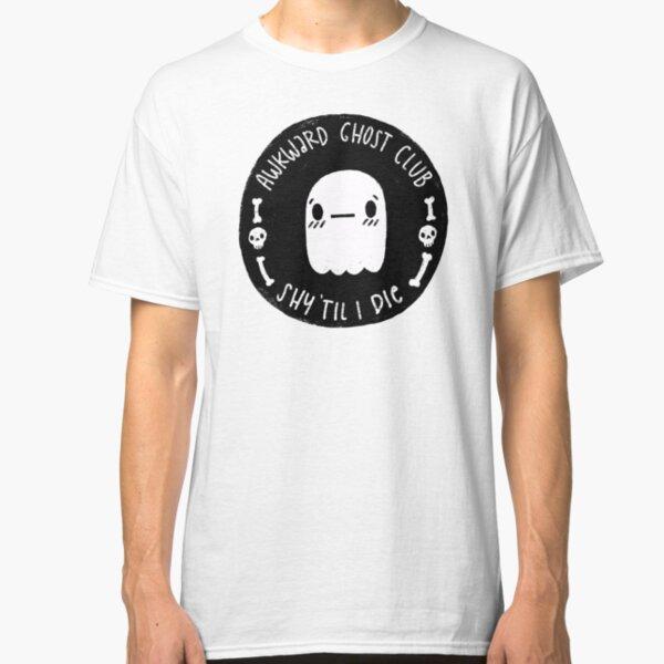Awkward Ghost Club Black Classic T-Shirt