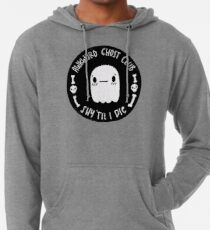 Ungeschickter Ghost Club Black Leichter Hoodie