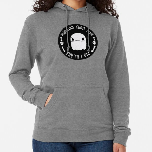 Awkward Ghost Club Black Lightweight Hoodie