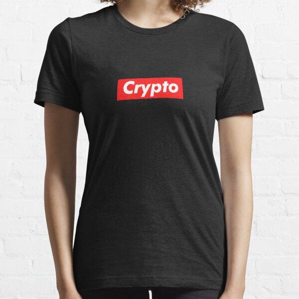 Cripto Camiseta esencial
