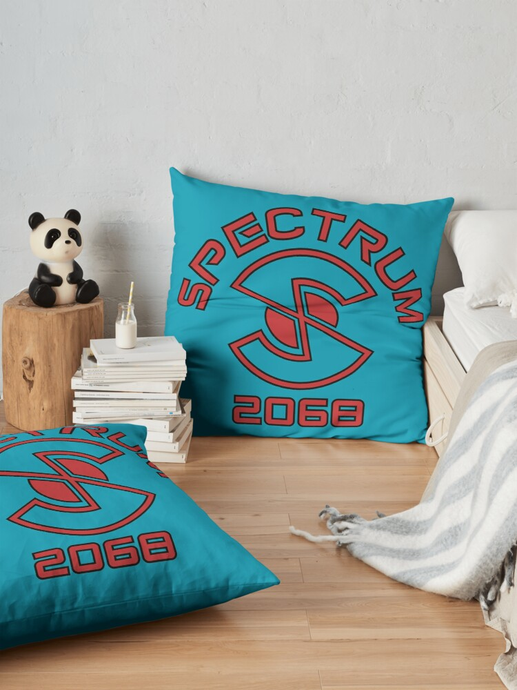 Alternate view of Captain Scarlet and the Mysterons Spectrum Logo Floor Pillow