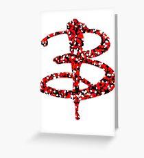 B. the vampire slayer Greeting Card