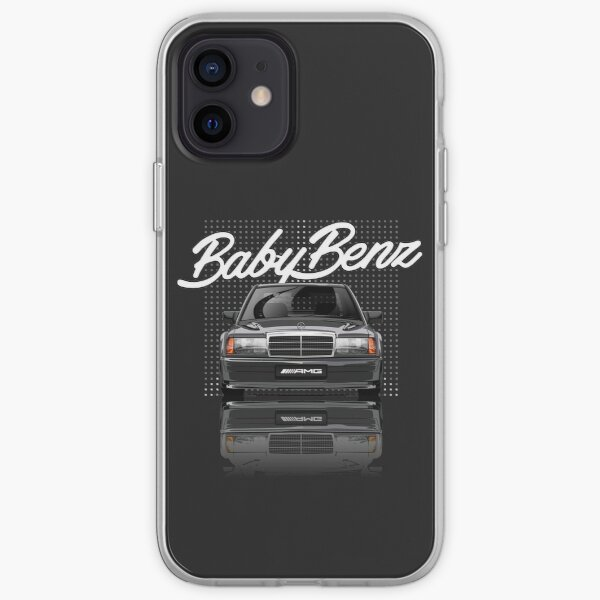 Mercedes 190E Évolution Coque souple iPhone
