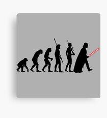 It's Evolution Baby! Canvas Print
