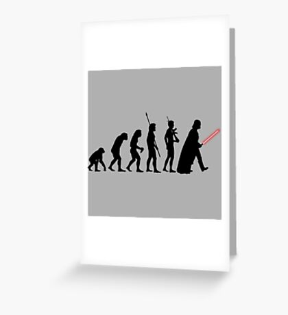 It's Evolution Baby! Greeting Card