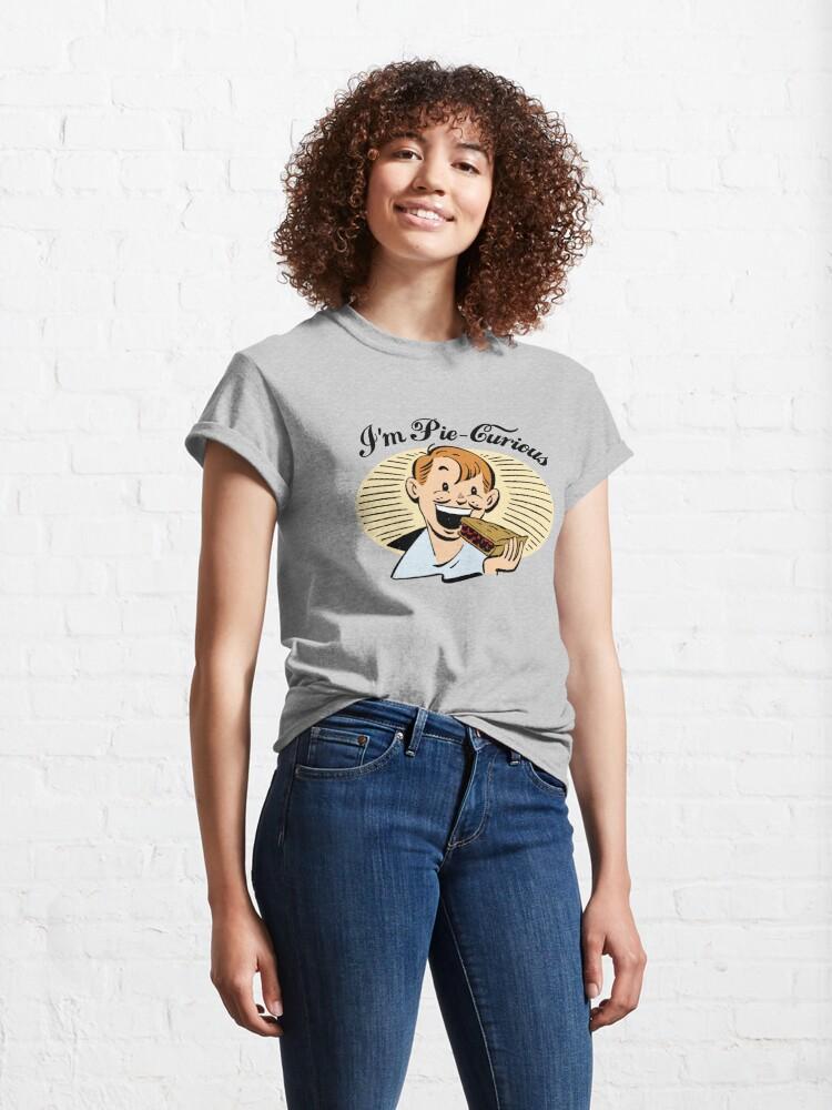 Alternate view of I'm Pie-Curious Classic T-Shirt