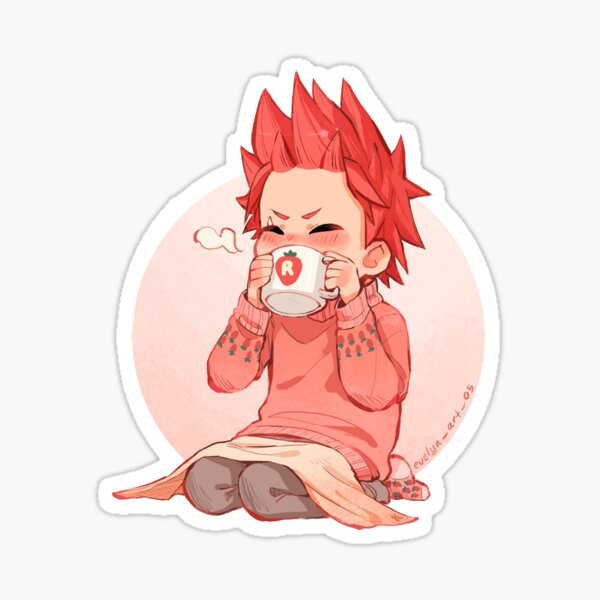 Strawberry Kiri Sticker