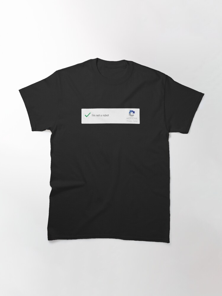 Alternate view of Am I A Robot? Classic T-Shirt