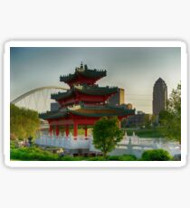 Robert D. Ray Asian Gardens 3 Sticker