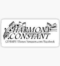 Harmony Constant Band Logo Sticker