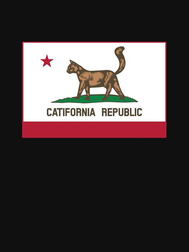 Catifornia Republic State Flag by KaijuCats