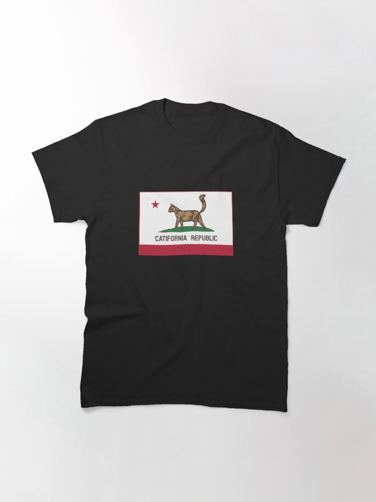 Alternate view of Catifornia Republic State Flag Classic T-Shirt