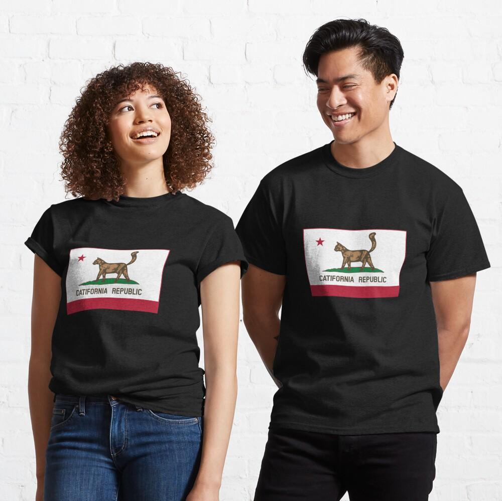 Catifornia Republic State Flag Classic T-Shirt