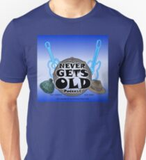 The Never Gets Old Logo music and adventure Unisex T-Shirt