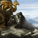 Golden Dragon Cave by Jennifer Beasley