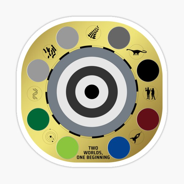 Mars Perseverance Mastcam-Z Sundial  Sticker