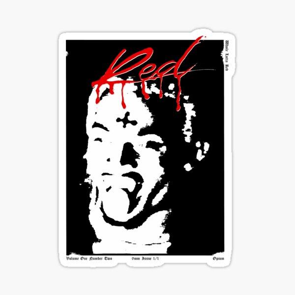Playboi Carti Whole Lotta Couverture Rouge Sticker