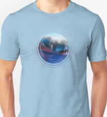 Watercolor abstract landscape 25 Unisex T-Shirt