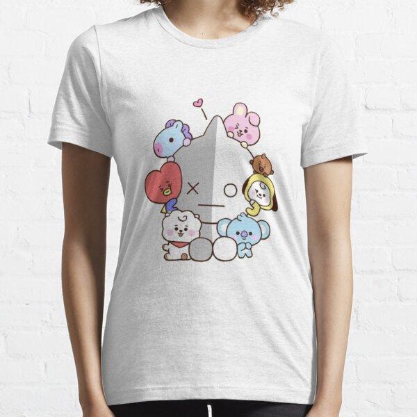 BT21 bebés lindos Camiseta esencial