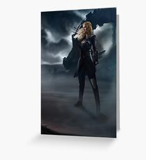 To War : Clarke Griffin Greeting Card