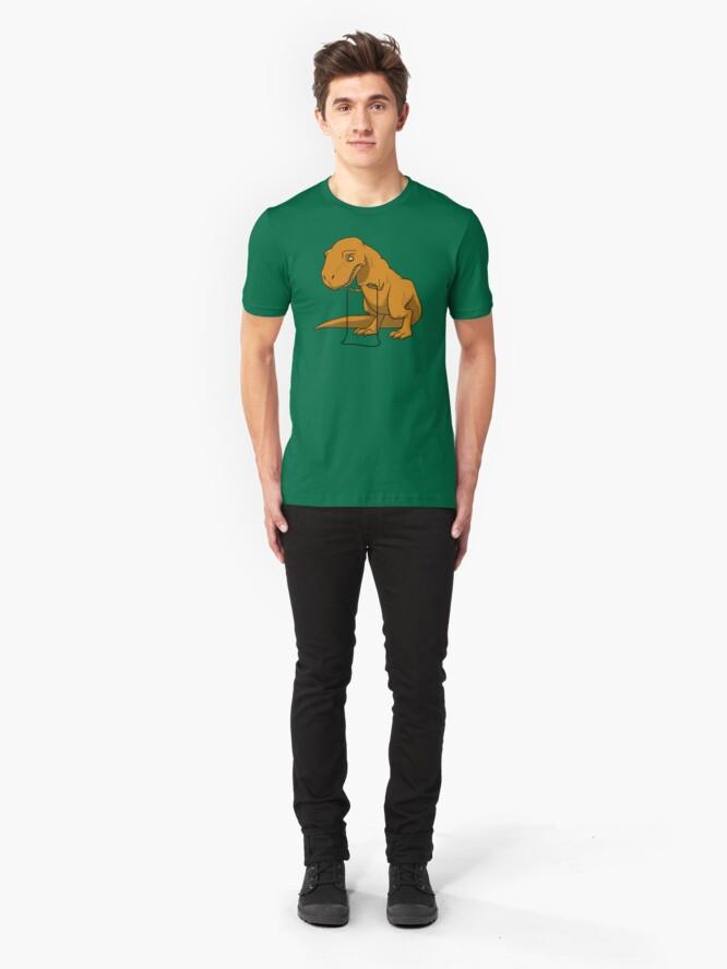 Alternate view of Foiled Again Slim Fit T-Shirt