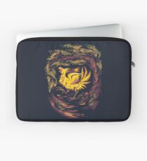 Chocobo with Blossoms Laptop Sleeve