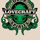 Lovecraft Dark Spirits - leichter Druck von Rebekie Bennington