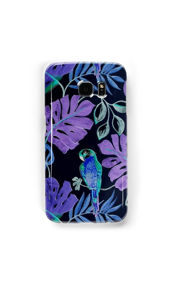 wallet on iphone quot tropical parrot paradise quot samsung galaxy cases amp skins by 8722